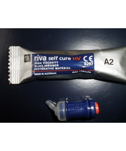 Glass ionomer restorative Riva Self Cure HV, capsule