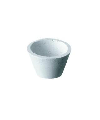 """Полирна гума - бяла груба чашка """"UNIVERSAL К11"""""""