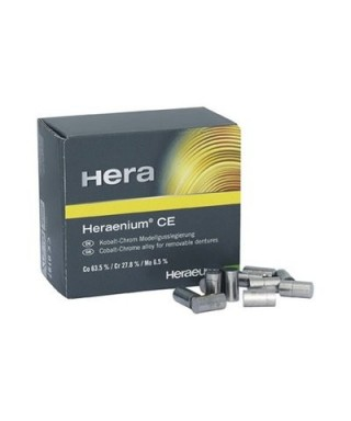 Heraenium CE partial denture alloy - 6.25 g