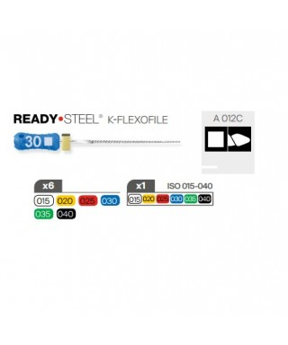 К - Флексофайл (Flexofile) Ready Steel, 25 мм.