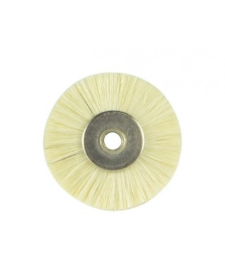 Полирна четка бял косъм за полирмотор - ø 50 мм