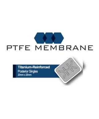 PTFE мембрана с титан, нерезорбируема, постериорна (р-р 20х25мм)