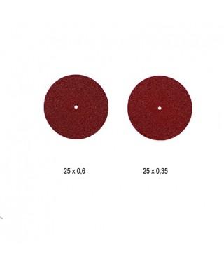 Карборундов сепаратор, червен - ø 25 мм