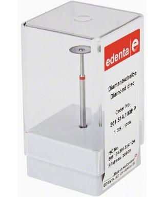 Монтиран диамантен сепаратор, фин, червен (ø 10 x 0,15)мм