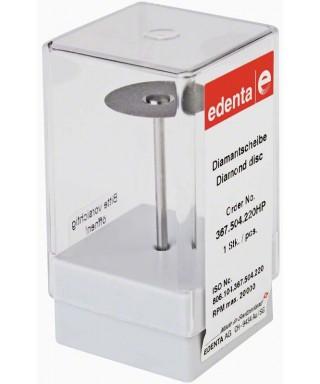 Монтиран диамантен сепаратор, ултратънък супер фин / жълт (ø 22 x 0,09)мм