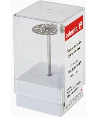 Монтиран диамантен сепаратор за керамика, перфориран фин