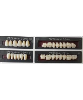 Трислойни зъбни гарнитури (NT Optima) - пълен сет