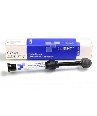 Light curing nano hybrid composite I-LIGHT - syringe 4g