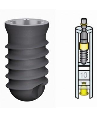 Дентален имплант D4,8 мм с капачка (Leone)