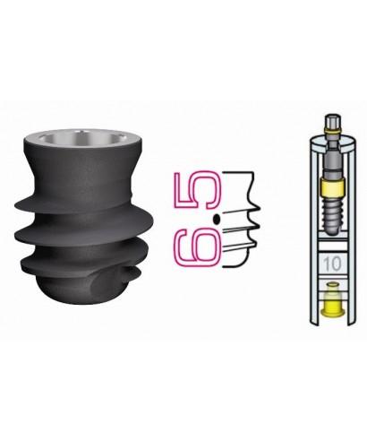 Къс дентален имплант D5,0 / L6,5 мм с капачка