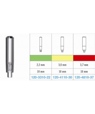 Цилиндрична надстройка тънка (вис. 10 мм )