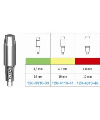 Цилиндрична надстройка за имплант, стандартна (вис. 10 мм)