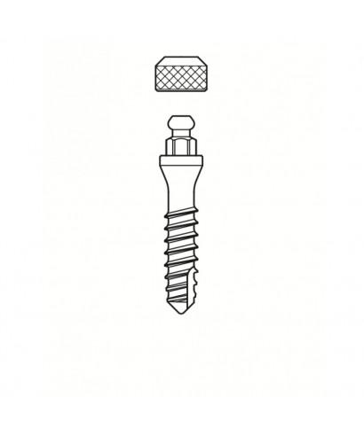 Моноимплант за протеза с ринг връзка, гингивална височина 3 мм (D2,7 мм)
