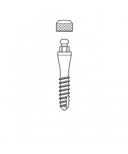 Моноимплант за протеза с ринг връзка, гингивална височина 5 мм (D2,7 мм)