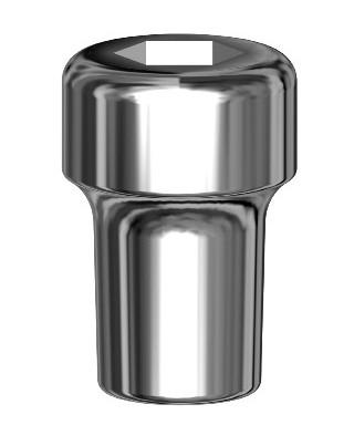 Стандартна заздравителна надстройка за имплант D4,1 мм