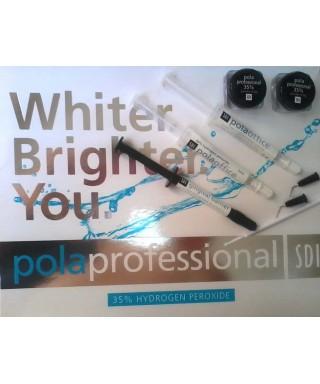 Endodontic bleaching system Pola Professional 35% hydrogen peroxide