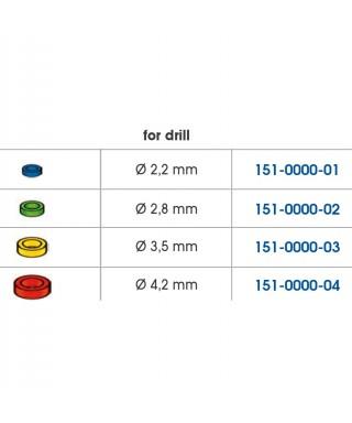 Гумен индикатор за дълбочина за дрелки - 10 бр./оп.
