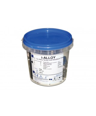 Chrom cobalt non-precious alloy I-ALLOY - piece of 6,45g