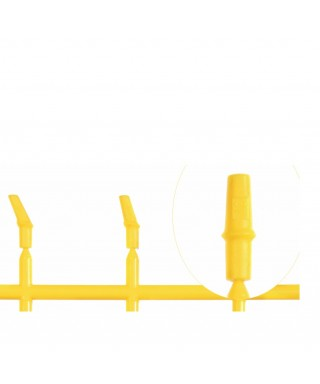 Try-in abutment standard, anatomical 360° for implant D4.1 mm