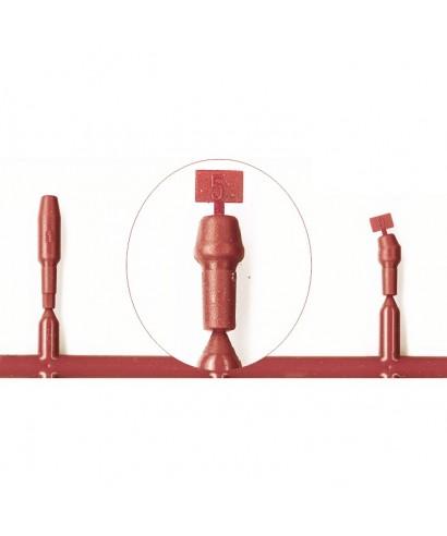 """Тестова надстройка за винтово-ретинирана протеза """"гинг. височина GH1,5мм"""" за имплант D4,8 мм"""