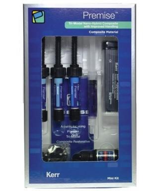 Light curing composite PREMISE mini kit - syringes (3 х 4 g) + etch 2 ml + bond 5 ml