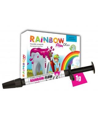 Flowable composite RAINBOW FLOW, syringe 1gr