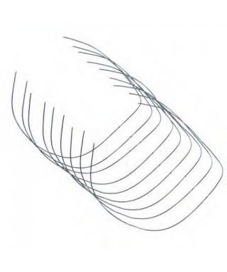 НиТи дъга с крива на SPEE, кръгла