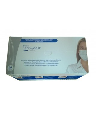 "Маски с ластик ""Safe+ mask Standard"" Type II - кутия 60 бр."