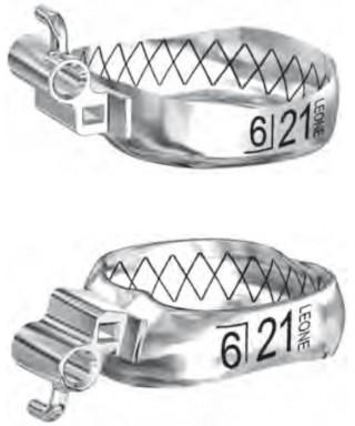 """Кит пръстени """"WEB"""" (Рот) с 1 канюла - 25 бр./оп."""