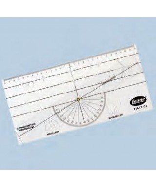 Cephalometric protractor