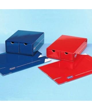 Кутия за учебни модели - синя