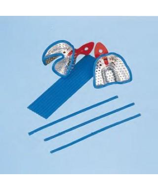 Quadrangular wax sticks for impression trays- tape (9 sticks)
