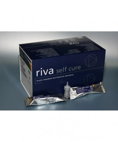 Цимент - гласйономерен химичен RIVA Self Cure (Fast), изграждане - капсула 0,13 мл(мин.)