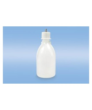 Squeeze bottle for powder dosing (resin)