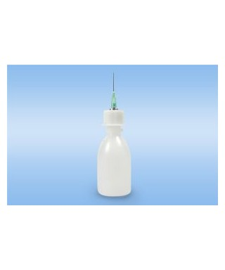 Squeeze bottle for liquid dosing (resin)