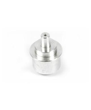 Spray nozzle for powder or liquid (resin)