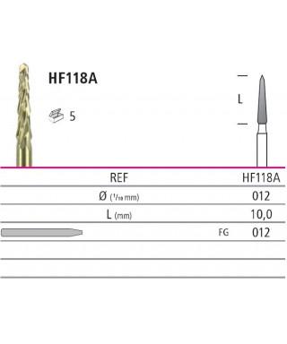 Хирургична турбинна фреза с двойно нарязване, мин инвазивна - 1 бр.