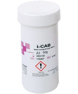 Acrylic resin I-CAB C&B (С+В) for crowns and bridges - 50g