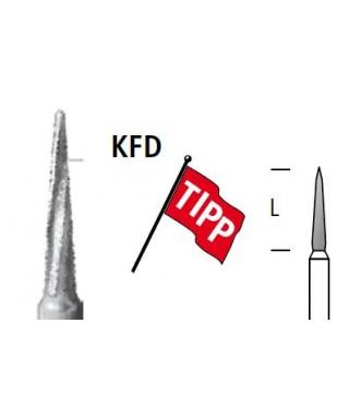 """Хирургична костна фреза, диамантена по """"Линдеман"""" KFD10 * 016RAL"""