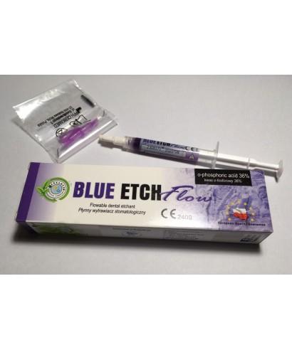 Ец гел течен, Blue etch flow - шприца 2 мл