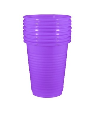 Plastic cups for single use - pack 50 pcs.