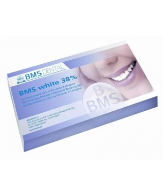BMS whitening system 38% hydrogen peroxide - 2 patients
