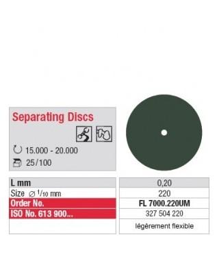 Синтетичен сепаратор, екстра фин, леко гъвкав (ø 22 x 0,2)мм