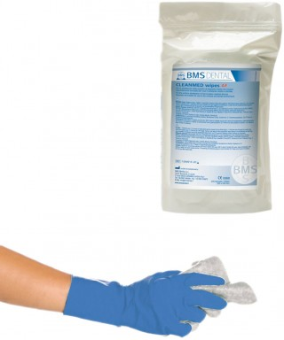 """Дезинфекционни кърпи за повърхности без алкохол """"Cleanmed Wipes AF"""" пълнител - 200 бр./(20 х 20)см"""