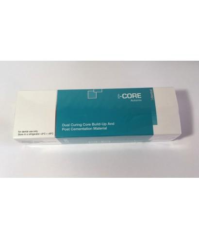 Дуал цимент за циментиране на щифтове и изграждане I-CORE - шпр 9 г (+ аксесоари)