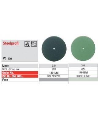 "Silicone polisher for alloys ""Steelprofi"" - disc (ø22 x 3)mm"