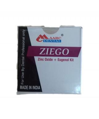 Root canal filler ZIEGO (Zinc Oxide + Eugenol) - 30g+15ml Shiva