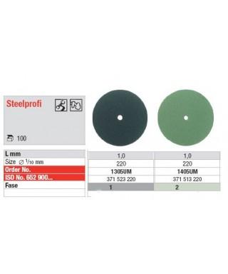"Полирна гума за сплави ""Steelprofi"" - тънък диск (ø 22 x 1)мм"