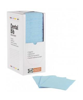 Лигавник кърпа, двупластов Soft - диспенсер 125 броя