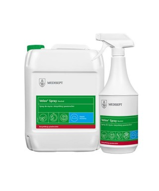 Disinfection solution spray (rapid) for surfaces (Velox Spray)